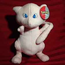 "Pokemon Mew Plush Stuffed toy 1999 Nintendo By: Play-By-Play 11"" Rare"