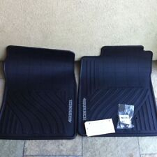 NEW OEM 2003-2009 Toyota 4Runner All Weather Black Floor Mats 2-Piece Set