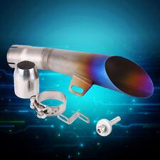 Universale Moto Terminali di Scarico 35mm-51mm Tubo Silenziatore Acciaio Inox