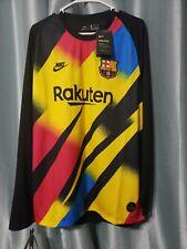 Nike Barcelona Fc Goalkeeper Jersey Longsleeve 19/20 Men's Xl Bv1483-720 New