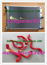 For Ford Radiator & Hose BA BF Falcon XR6 Fairmont Turbo 10/02- 4/08 Aluminum