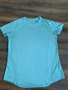 NIKE DRI-FIT Running Activewear Workout Top L UK 12 .Good Condition