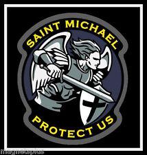 SAINT MICHAEL PATRON SAINT OF POLICE OFFICERS  FRIDGE LOCKER  MAGNET