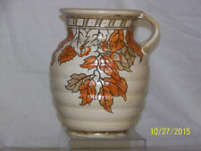 Charlotte Rhead Master Ceramist Tubelined Beehive Vase Art Deco Era Signed