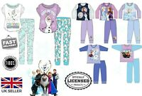 Kids Frozen 2 Pyjama Girls Frozen Women PJ Set Disney Elsa & Anna Olaf PJs New**
