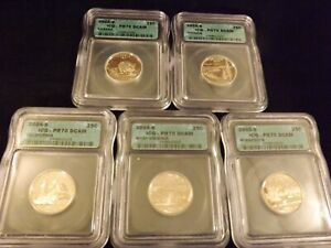 2005 -S    Quarter   5 Coin Set            ICG  PR 70 DCAM
