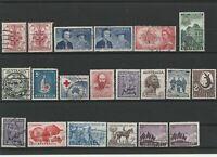 Wertvolles Lot Australien ab 1950 gestempelt 20 Werte