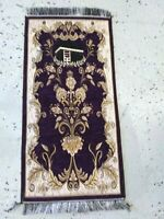 Islamic Travel Mat Prayer Rug Muslim janamaz Mat Turkish Quality Sajda chenille