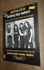 Cherry Lane Music Metallica Nothing Else Matters Guitar Sheet Music Series