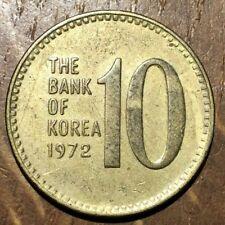 PIECE DE 10 WON CORÉE DU SUD 1972 (253)