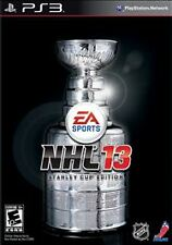 NHL 13 STANLEY CUP STEEL COLLECTORS EDITION PS3 PERFECT DISC FastShip Worldwide!