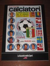 ALBUM CALCIATORI FIGURINE PANINI GAZZETTA DELLO SPORT 1971/72