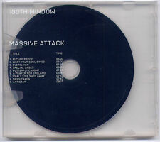 MASSIVE ATTACK 100th Window 2003 UK 9-track promo CD