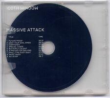 MASSIVE ATTACK 100th Window 2003 UK 9-track promo CD