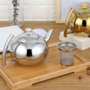 Stainless Steel Home Warm Wine Pot Teapot with Filter Induction Cooker Kettle