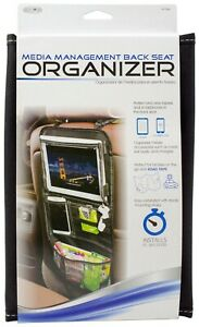 Custom Accessories Media Management Back Seat Organizer 91139