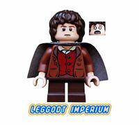 LEGO Minifigure - Frodo Baggins Dark Cape - Hobbit Lord Rings lor003 FREE POST