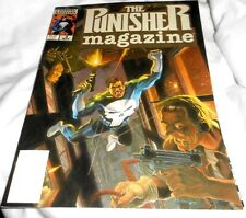 THE PUNISHER MAGAZINE VOL 1 NO 3 NOV 1989 NICE CONDITION