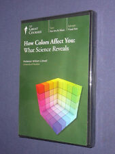 Teaching Co Great Courses  DVD       HOW COLORS AFFECT YOU         new & sealed