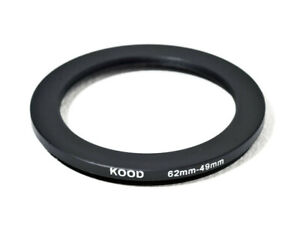 Stepping Ring 62-49mm 62mm to 49mm Step Down ring stepping Rings 62mm-49mm