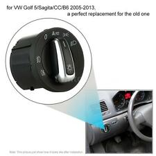 Car Headlight Fog Light Control Switch Knob For VW Golf 5 Sagita 2005-2013 M4Z3