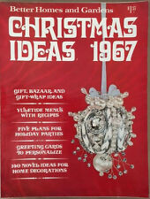 Better Homes and Gardens 1967 Christmas Ideas Decorations to Make Recipes Trees