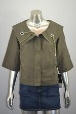 MOSSIMO Olive Green Lightweight Anorak Jacket Coat Size SMALL S - NEW $29.99