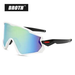 Cycling Sunglasses HD Lens Goggles Big Frame Glasses Climbing Sport Men Women