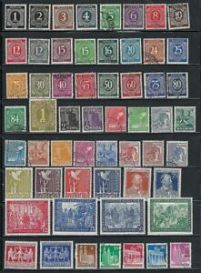 Germany Lot, 1946 to 1951
