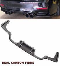 BMW 3 4 SERIES F80 F82 M3 M4 REAR DIFFUSER VALANCE 3D STYLE CARBON FIBRE 15+