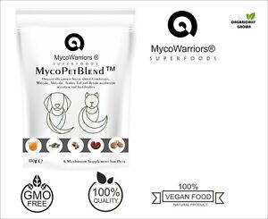 MycoPetBlend™ A Medicinal Mushroom powder for Pets, Dogs, Cats FREEZE-DRIED!!