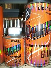 TCI 40% Premium Glamour 1 Quart Clear Coat Kit High Gloss Urethane 4-1 Mix Clear