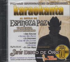 Espinoza Paz Serie Disco De Oro Vol 70 Karaoke New Sealed