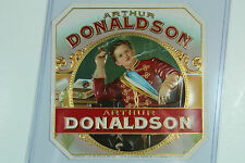 Arthur Donaldson Outer Cigar Box Label