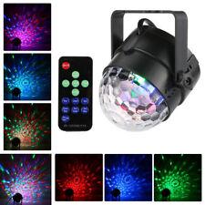Mini RGB LED Luz para Escenario Bola de Discoteca Fiesta Show Láser Sonido Activado y remota