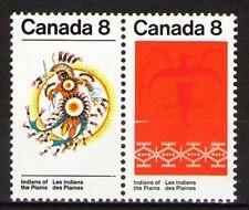 Canada 1972 Sc565a Mi511-12x 1.4 MiEu  1 Pair  mnh  Indians of the Plains