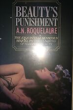 BEAUTY'S PUNISHMENT BY A.N. ROQUELAURE *SIGNED*FIRST UK ED*