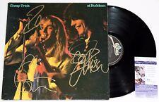 CHEAP TRICK SIGNED AT BUDOKAN LP VINYL RECORD ROBIN ZANDER RICK NIELSEN +JSA COA