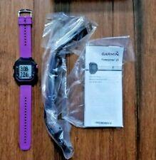 GARMIN Forerunner 25 GPS Watch Daily Activity Fitness Tracker - Purple - Small
