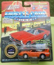 #4 ORANGE PLYMOUTH SUPERBIRD ROADRUNNER 1995 1970 MOPAR 70 JOHNNY LIGHTNING JL