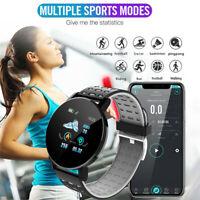 Smart Watch Blutdruck Sauerstoff Herzfrequenzmesser For iPhone Android 119 Plus