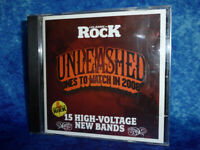 Classic Rock UNLEASHED Ones To Watch In 2008 CD Compilation Album (15 tracks)