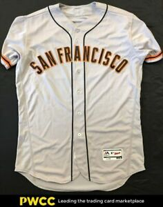 2016 Buster Posey Game-Worn Autographed Jersey #42, Jackie Robinson Day, PSA/DNA