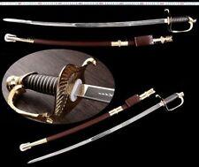 Handmade European Royal Honor Guard Sword Stainless Steel Aluminum Alloy Fitting
