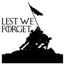 Lest we forget Army Flag, Remembrance Day Poppy Flower Sticker Car Window Decal