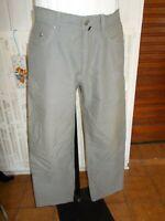 Pantalon  coton beige/kaki léger PIERRE CARDIN  W34 L34 ou 42FR gr.50 18n2
