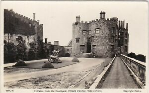 Entrance From The Courtyard, Powis Castle, WELSHPOOL, Montgomeryshire RP