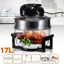 Maxkon 0-250°C 17L Turbo Low Fat Convection Halogen Oven cooker Cooking Recipe