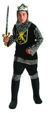 Boys Warrior King Knight Costume Medieval Renaissance Story Book Kids Size Lg