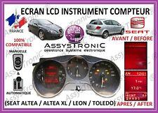 ÉCRAN AFFICHEUR LCD COMPTEUR SEAT ALTÉA / ALTÉA XL / LÉON / TOLÉDO SOUS 48H